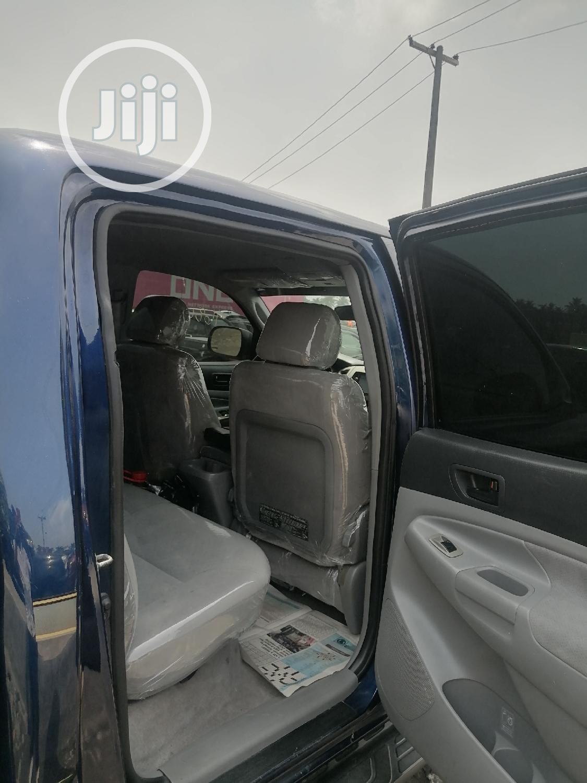 Archive: Toyota Tacoma 2008 4x4 Access Cab Blue