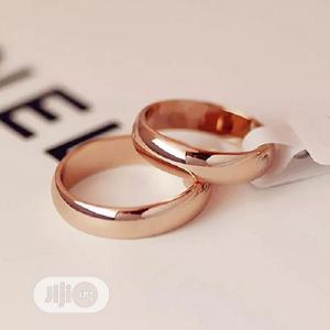 Wedding Ring, High Quality Couple Non-Fade Rose Gold Color   Wedding Wear & Accessories for sale in Lagos State, Surulere