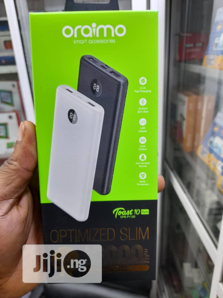 Oraimo Toast 10 Power Bank   Accessories for Mobile Phones & Tablets for sale in Wuse, Abuja (FCT) State, Nigeria