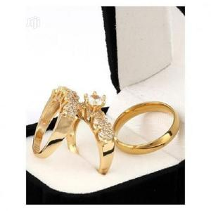 Italian Gold Plated Wedding Ring Set   Wedding Wear & Accessories for sale in Lagos State, Surulere
