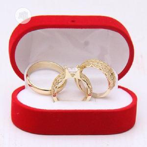 Italian Gold Couples Wedding Ring Set   Wedding Wear & Accessories for sale in Lagos State, Surulere