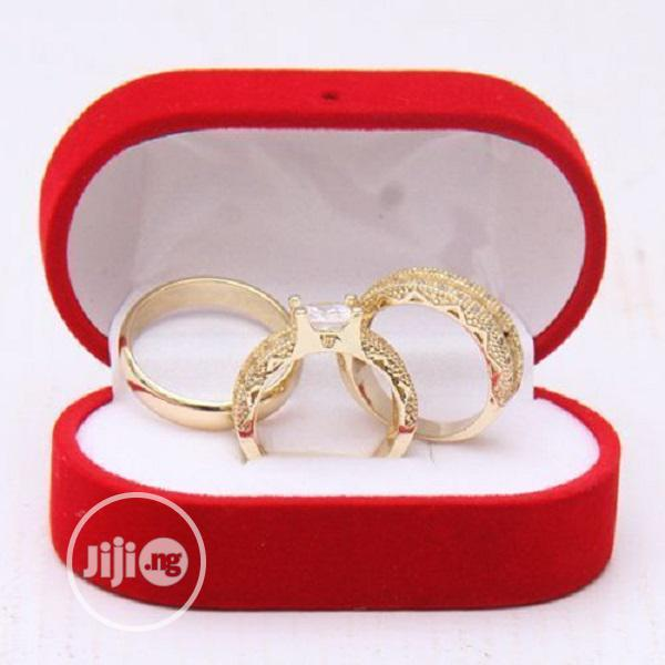 Archive: Italian Gold Couples Wedding Ring Set