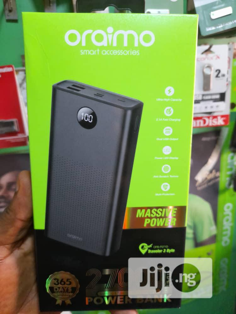 Oraimo Power Bank   Accessories for Mobile Phones & Tablets for sale in Wuse, Abuja (FCT) State, Nigeria