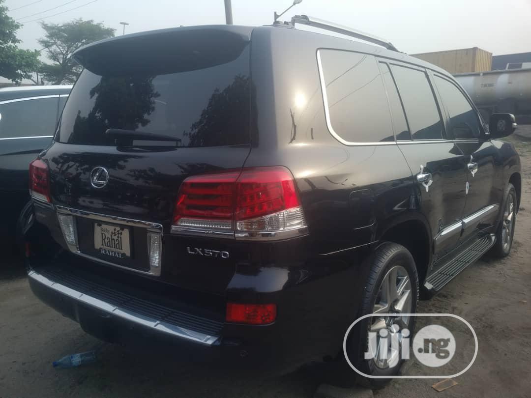 Lexus LX 2014 570 Base Black | Cars for sale in Apapa, Lagos State, Nigeria