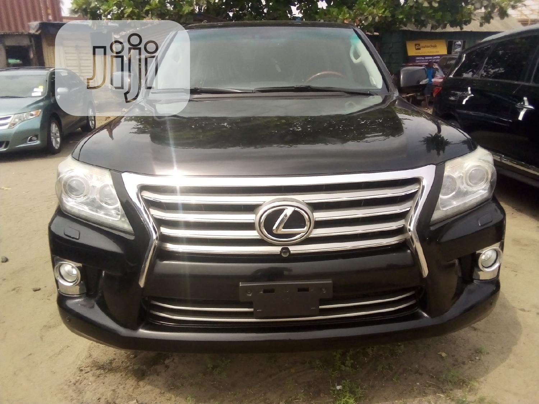Lexus LX 2014 570 Base Black