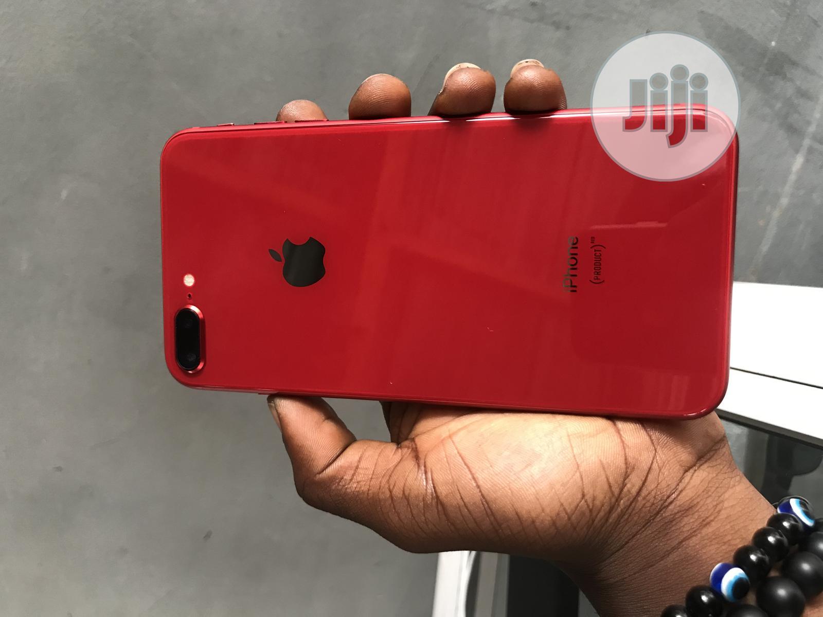 Apple iPhone 8 Plus 64 GB Red   Mobile Phones for sale in Ikeja, Lagos State, Nigeria