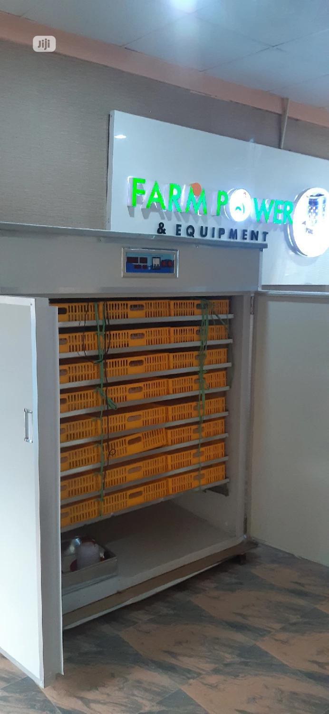 2112 Capacity Automatic Incubator.