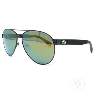 Genuine Lacoste L185s-315 Aviator Green Lens Sunglasses | Clothing Accessories for sale in Lagos State, Ikeja