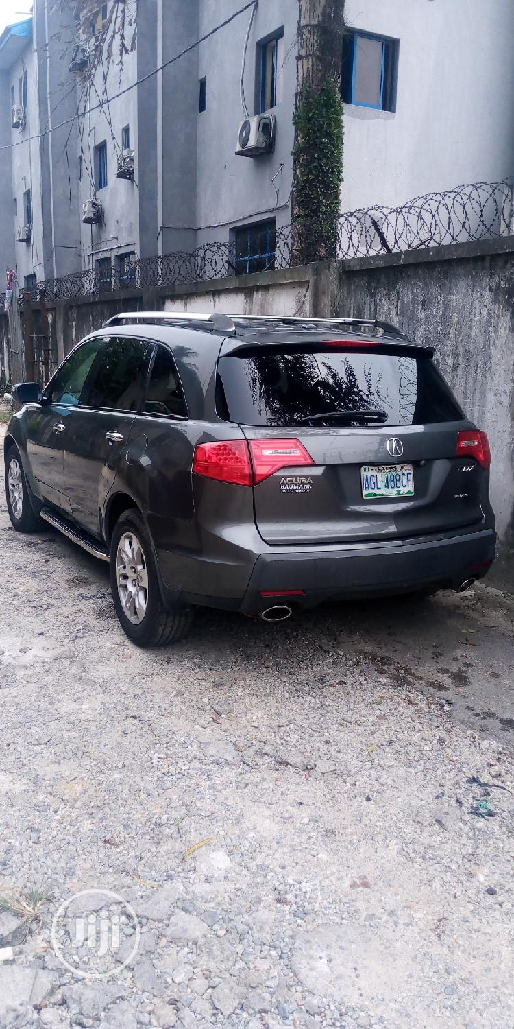 Acura MDX 2008 SUV 4dr AWD (3.7 6cyl 5A) Gray | Cars for sale in Port-Harcourt, Rivers State, Nigeria