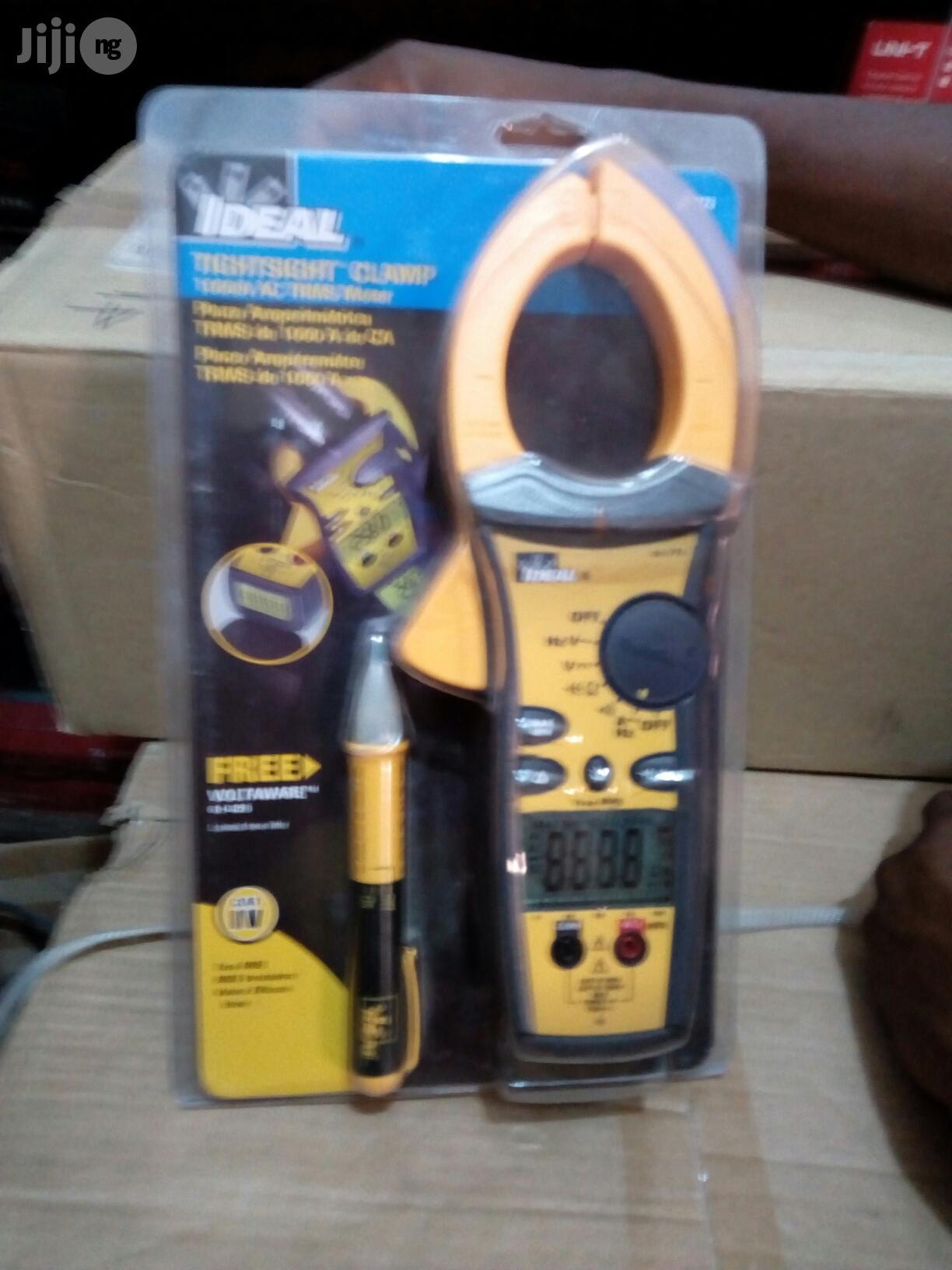 Ideal Digital Clamp Meter Ac Dc