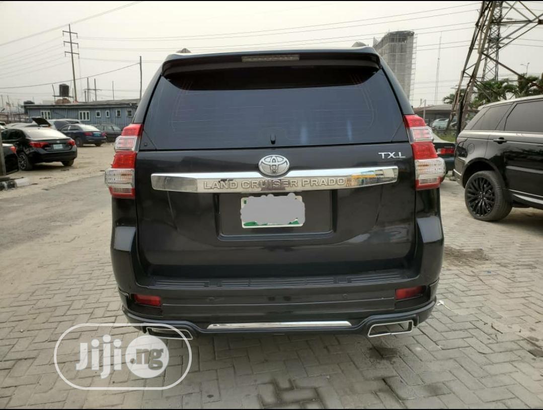 Toyota Land Cruiser Prado 2017 Black | Cars for sale in Ajah, Lagos State, Nigeria