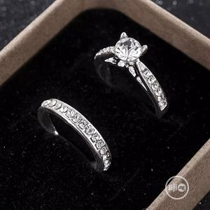 2pcs/Set Charm Lovers Ring Bijoux Femme Fashion Jewelry | Wedding Wear & Accessories for sale in Lagos State, Gbagada