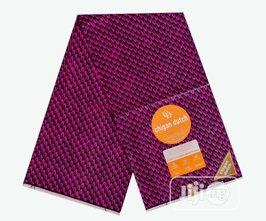 Chigan Dutch Wax | Clothing for sale in Lagos Island (Eko), Lagos State, Nigeria