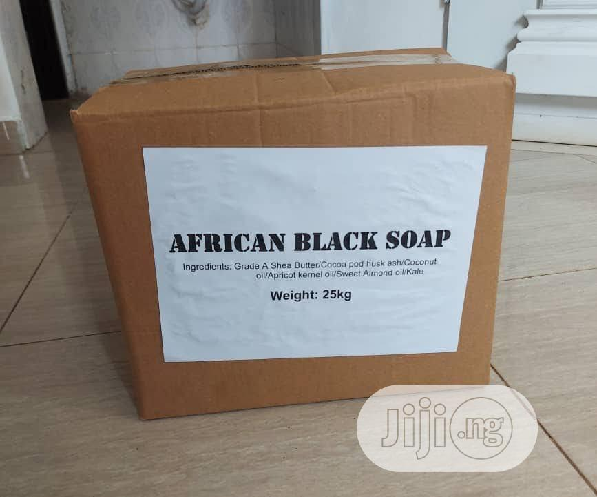 Raw African Black Soap (1kg Bar)   Bath & Body for sale in Alimosho, Lagos State, Nigeria