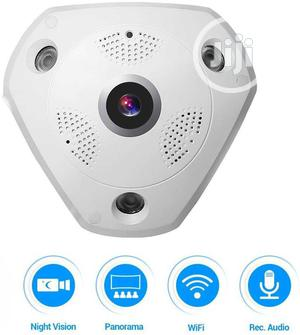 Smartphone View 360 Panoramic Wireless Wifi IP Camera | Security & Surveillance for sale in Lagos State, Ikeja