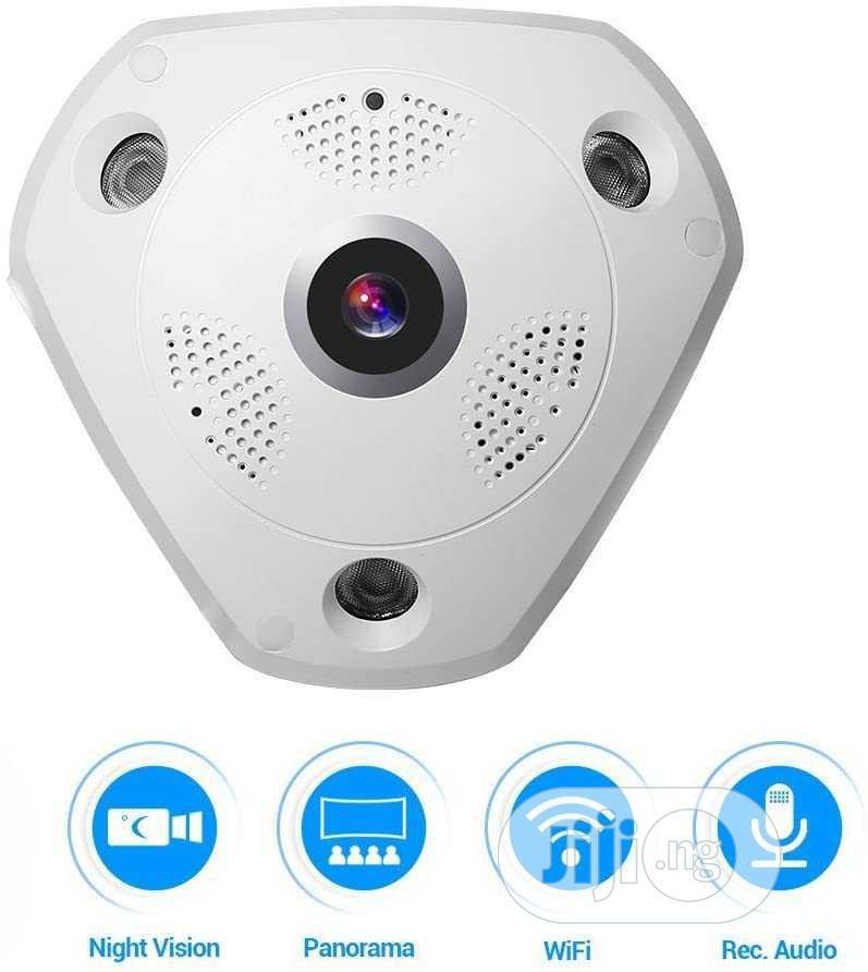 Smartphone View 360 Panoramic Wireless Wifi IP Camera
