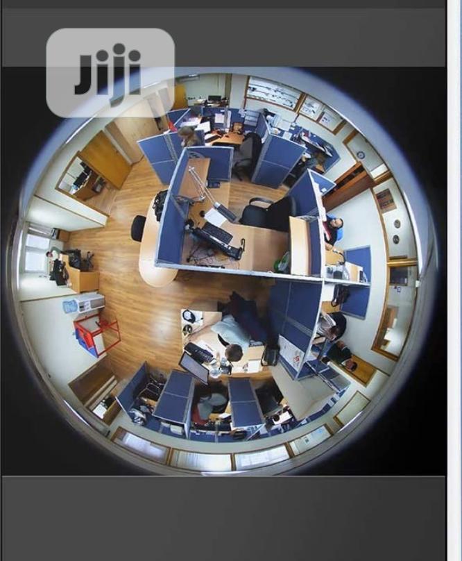 Smartphone View 360 Panoramic Wireless Wifi IP Camera | Security & Surveillance for sale in Ikeja, Lagos State, Nigeria