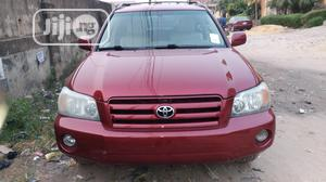 Toyota Highlander 2005 4x4 Red | Cars for sale in Lagos State, Isolo