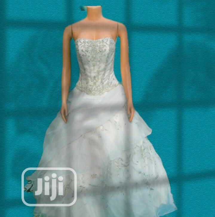 Archive: Beautiful White Quinceanera Wedding Gown