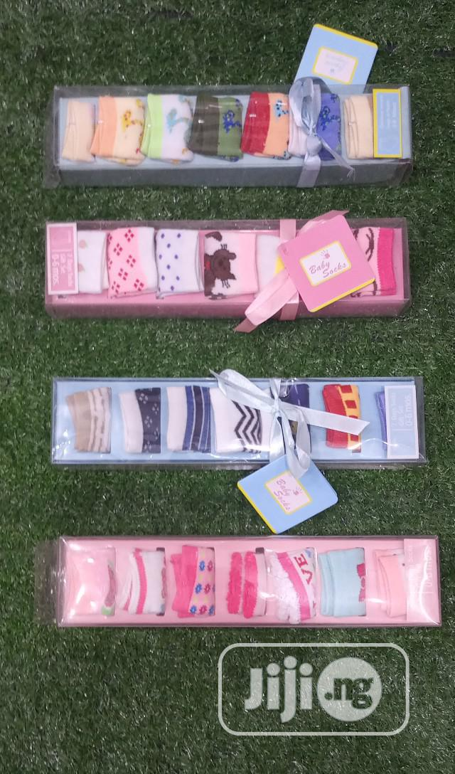 7in1 Baby Socks | Children's Clothing for sale in Lagos Island (Eko), Lagos State, Nigeria