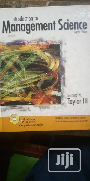 Introduction to Management Science   Books & Games for sale in Lagos State, Surulere
