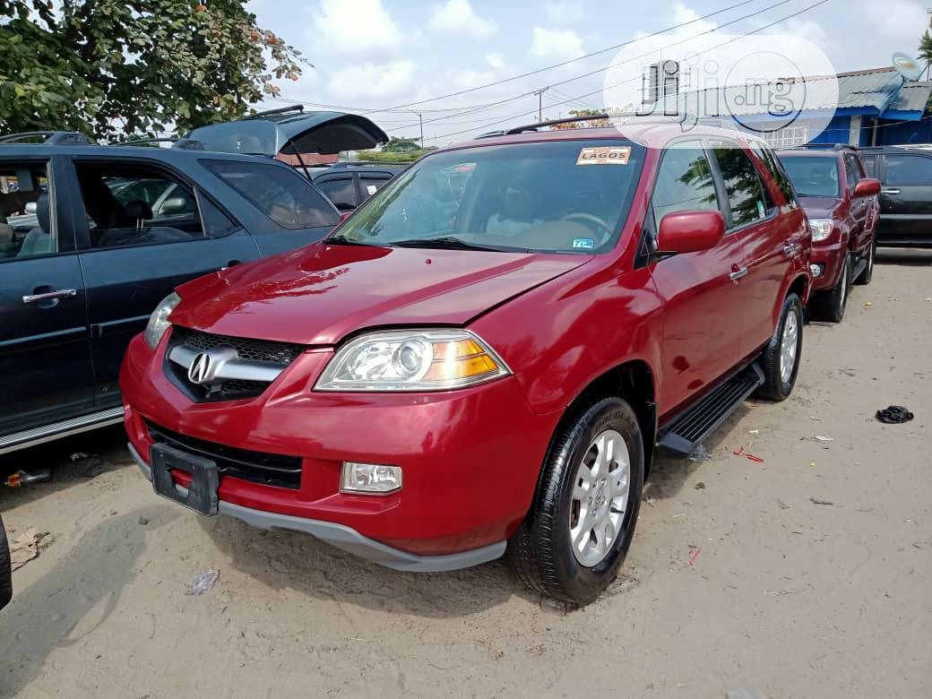Acura MDX 2006 Red