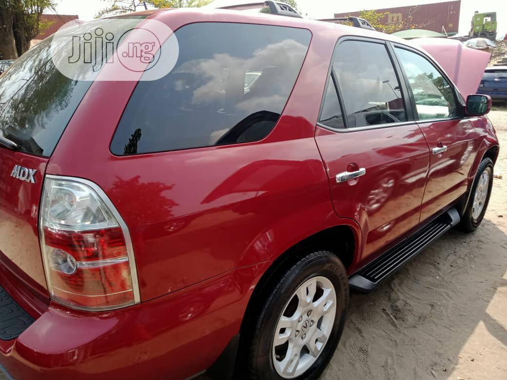 Acura MDX 2006 Red   Cars for sale in Amuwo-Odofin, Lagos State, Nigeria