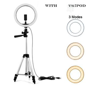 20cm Ring Light With Tripod Stand | Accessories & Supplies for Electronics for sale in Lagos State, Ikeja