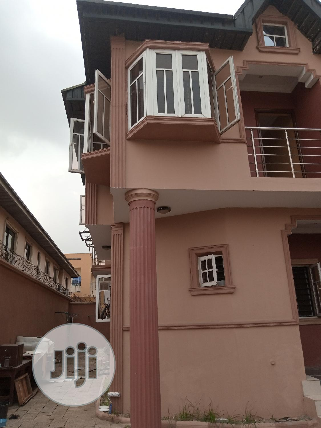 Archive: 4 Bedroom Semi-Detached Duplex With Bq All Room Ensuit