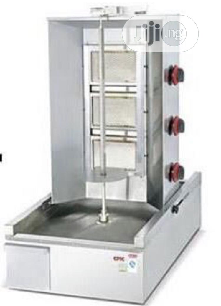 3 Burner Gas Shawarma Machine
