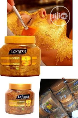 La'fresh Gold Scrub Blend of Natural Herb Wholesale, Retail   Skin Care for sale in Lagos State, Apapa
