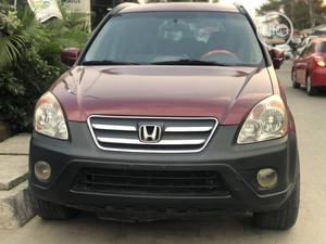 Honda CR-V 2005 2.0i ES Red | Cars for sale in Lagos State, Lekki