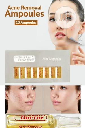 Herbal Skin Doctor Acne Ampoules (3mls X 10pcs) - Pimples | Skin Care for sale in Lagos State, Apapa