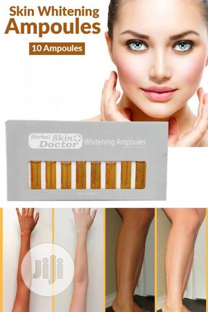 Herbal Skin Doctor Whitening Face Ampoules 3ml X 10pcs 1pack | Skin Care for sale in Lagos State, Apapa