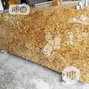 Italian Colonial Gold Marble Slab | Building Materials for sale in Lagos State, Orile