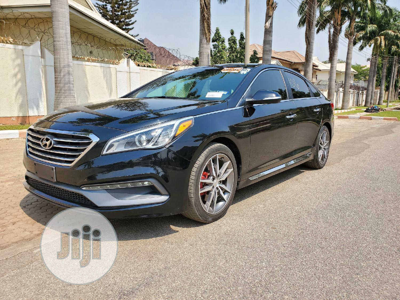 Hyundai Sonata 2016 Black | Cars for sale in Gwarinpa, Abuja (FCT) State, Nigeria