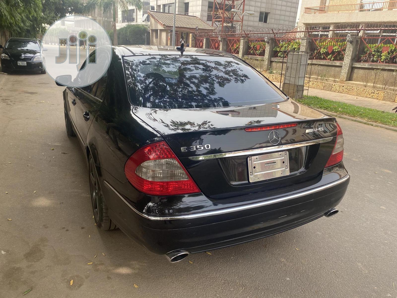 Mercedes-Benz E350 2008 Black | Cars for sale in Wuse, Abuja (FCT) State, Nigeria