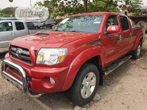 Toyota Tacoma 2009 Double Cab V6 Automatic Red   Cars for sale in Lagos State, Apapa