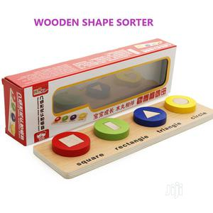 Montessori Wooden Shape Fraction And Color Learning Block | Toys for sale in Lagos State, Ikeja
