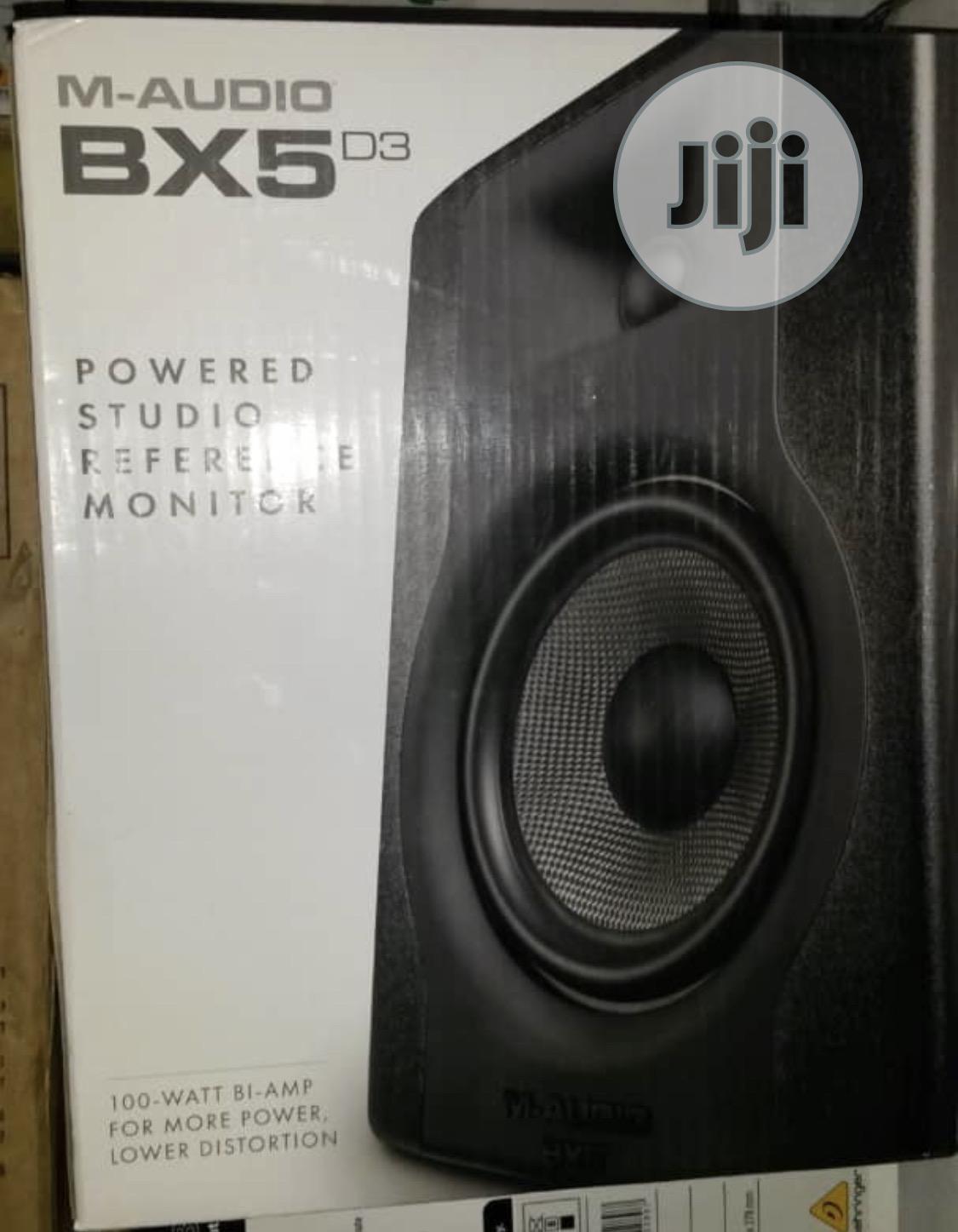 M Audio Bx5 D3 Powered Studio Monitor
