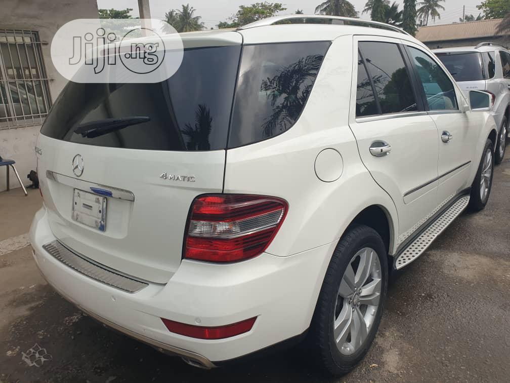 Mercedes-Benz M Class 2010 ML 350 4Matic White | Cars for sale in Apapa, Lagos State, Nigeria