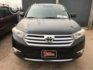 Toyota Highlander 2013 3.5L 4WD Black | Cars for sale in Edo State, Benin City