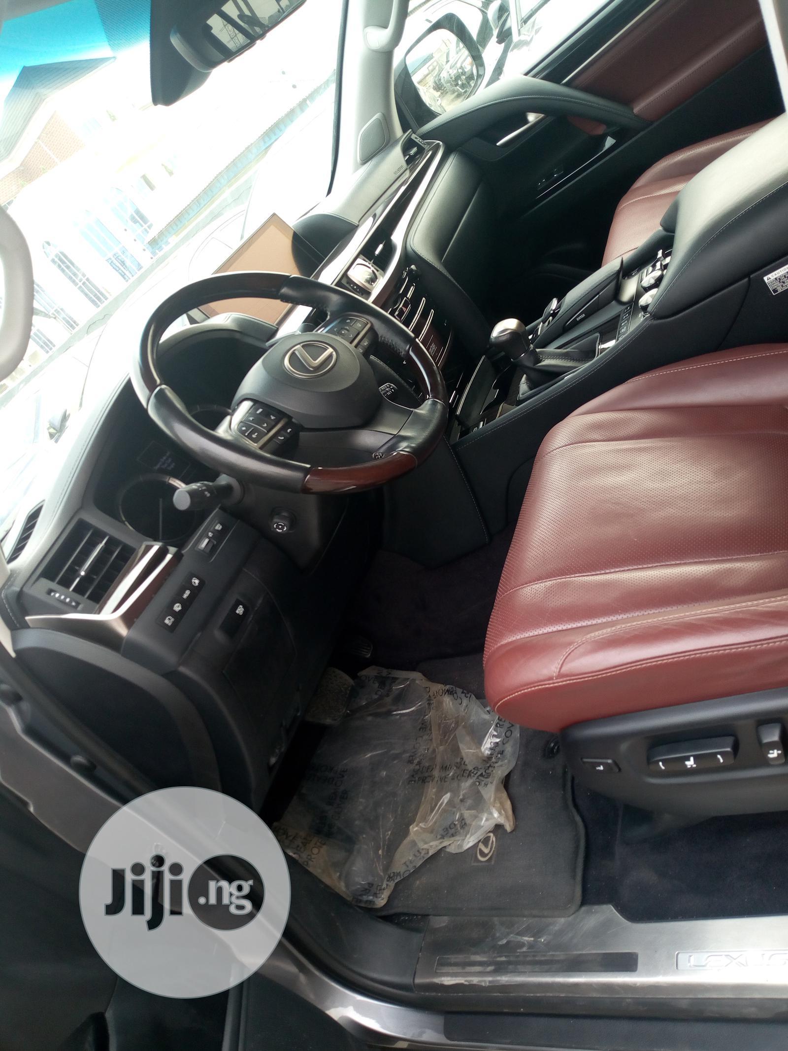 Lexus LX 2016 570 Base Gray | Cars for sale in Ikeja, Lagos State, Nigeria
