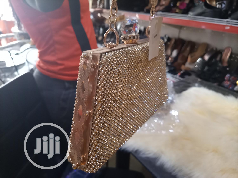 Gold Clutch Purse | Bags for sale in Egbeda, Oyo State, Nigeria