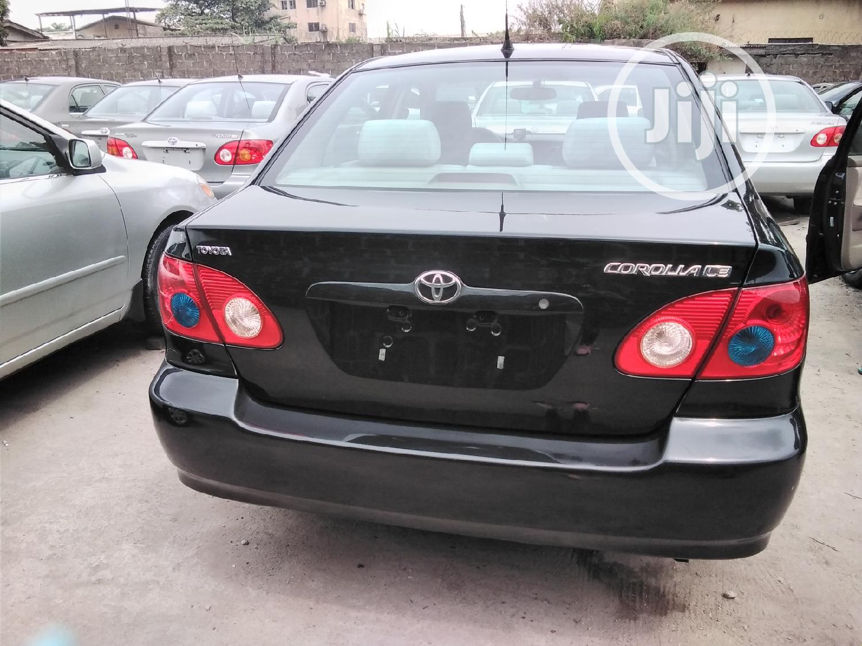 Toyota Corolla 2007 Black | Cars for sale in Amuwo-Odofin, Lagos State, Nigeria