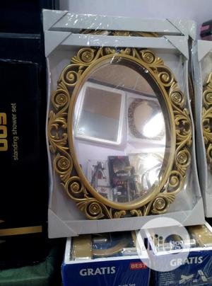 Gold Bathroom/ Wall Mirror   Home Accessories for sale in Lagos State, Surulere