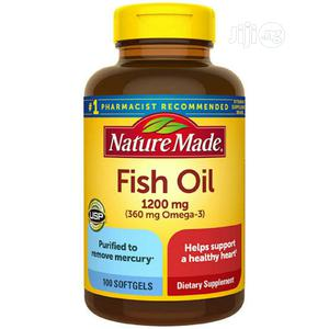 Nature Made Fish Oil Omega-3, 1200mg, 100 Softgels | Vitamins & Supplements for sale in Lagos State, Lekki