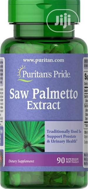 Puritan's Pride Saw Palmetto Extract   Vitamins & Supplements for sale in Lagos State, Lekki