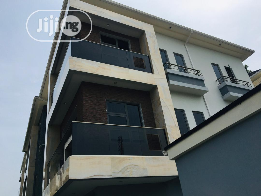 Executively Newly Built 4bedroom Apartment With Bq