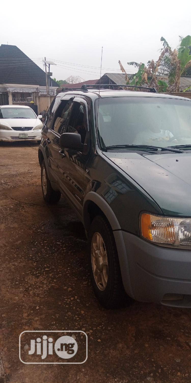 Ford Escape 2003 XLS Popular 4x4 Green | Cars for sale in Benin City, Edo State, Nigeria